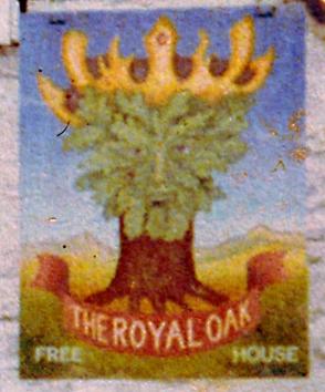 Pub sign: the Royal Oak