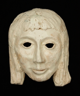 Ceramic Goddess Mask
